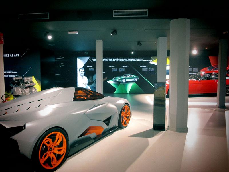 Storia Museo Lamborghini 2