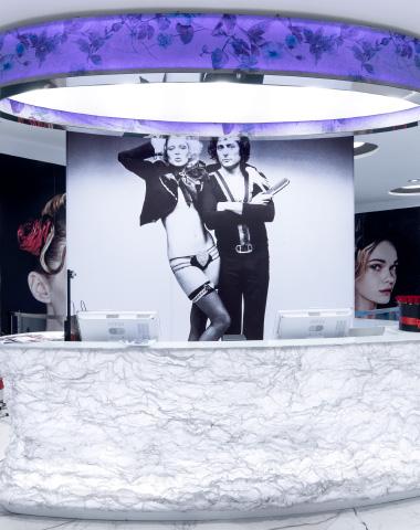 Aldo Coppola's atelier dresses up with ABS Group fabrics