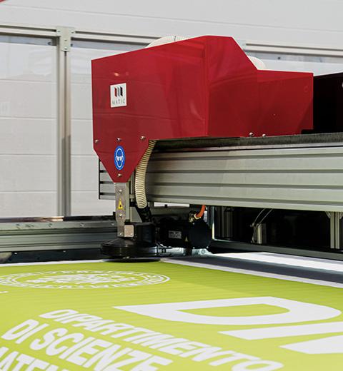 Laser textile cutter